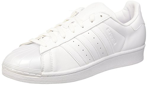 Scarpe Adidas Superstar Glossy BB0683 sneakers moda donna white Paint