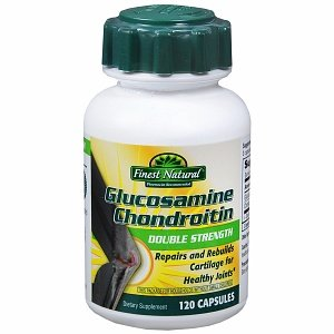 Finest Natural Glucosamine Chondroitin Double Strength Capsules, 120 ea