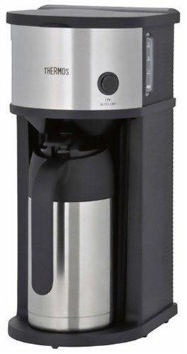 サーモス 真空断熱ポット コーヒーメーカー 630ml ステンレスブラック ECF-700 SBK