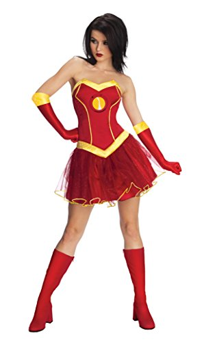 Women's Marvel Universe Rescue Costume Tutu Dress