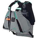 1 - Onyx Movement Dynamic Paddle Sports Life Vest - XS/SM - Aqua