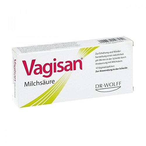 Vagisan Milchsäure Vaginalzäpfchen, 14 St
