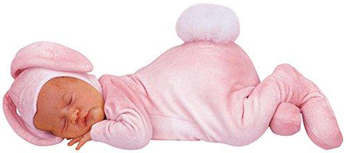 Princess Paradise Baby Girls Anne Geddes Bunny, Pink, 3/6M