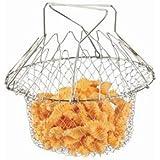 Everbuy Chef Basket Cooker Strainer 12 In 1 Kitchen Tool Cooks Net - Flexible Kitchen Helper Kitchen Tool - B072XD198N
