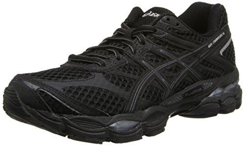 ASICS Women's Gel-Cumulus 16 Running Shoe,Black/Onyx/Silver,