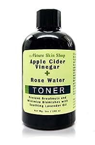 Amazon.com : Apple Cider Vinegar + Rose Water Toner