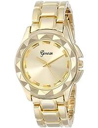 Geneva Women's 2391B-GEN Gold-Tone Bracelet Watch