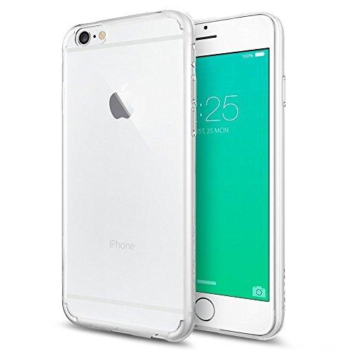 Coque iPhone 6s Plus, Spigen [ Liquid Crystal ] Housse Étui Coque de protection en silicone et TPU Coque pour iPhone 6 Plus (2014) / 6s Plus (2015) - ...