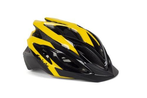 Spiuk Tamera - Casco de ciclismo, color amarillo / negro, talla 58...