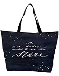 Snoogg Darkness To See The Stars Waterproof Bag Made Of High Strength Nylon