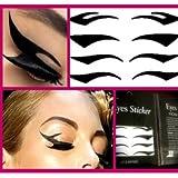 Sexy Temporary Tattoo Eyelid Transfer Eyeliner Sticker Makeup 4 Styles -