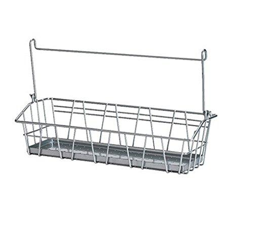 Super Sale Ikea 900.726.48 Bygel steel wire basket silver Guide BR-42