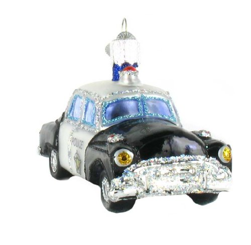 police officer christmas ornaments