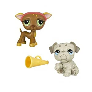 littlest pet shop bulldog amazon com littlest pet shop pet pairs greyhound 5861