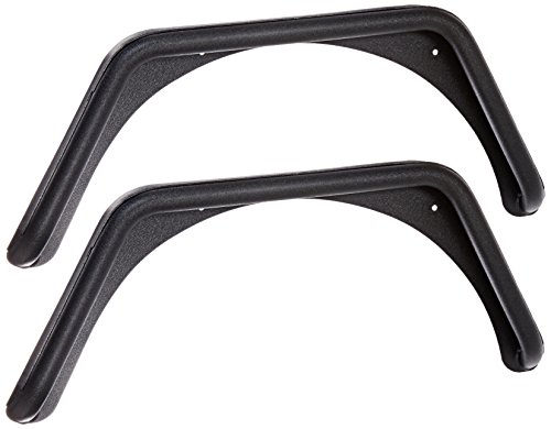 Smittybilt 76875 XRC Textured Black 1.5″ Tube Rear Fender with 3″ Wide Flare, Pair