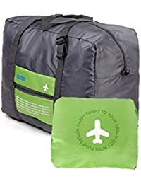 PETRICE Unique Foldable BAG,Polyester Material, Large Capacity Waterproof Foldable Lightweight Luggage Bag (GREEN...