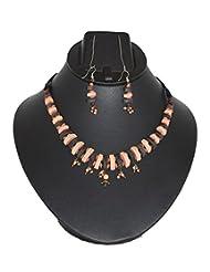 Aanya Creations Handmade Terracotta Necklace Set
