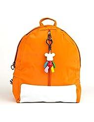 Belk Lunch Box Carry Bag With Shoulder Strap Backpack And Lunch Bag School Bag Orange