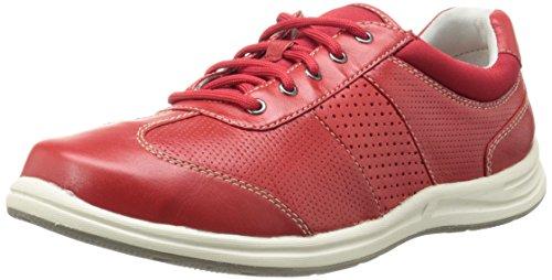 Rockport Women's XCS Walk Together T Toe Walking Shoe, Red B