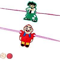Set Of 02 Cartoon Kids Rakhis