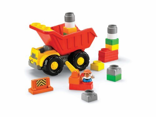 Fisher-Price Little People Builders Build N Drive Dump Truck
