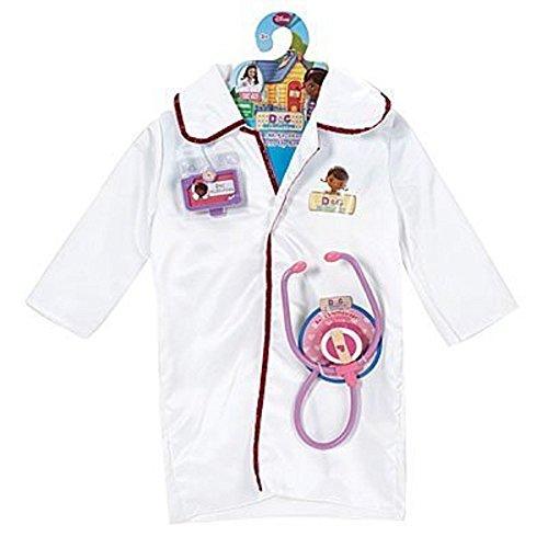 Disney Doc McStuffins Dress Up Doctor Coat Costume Set