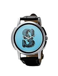 PosterGuy Alphabet S Typography Men's Wrist Watches