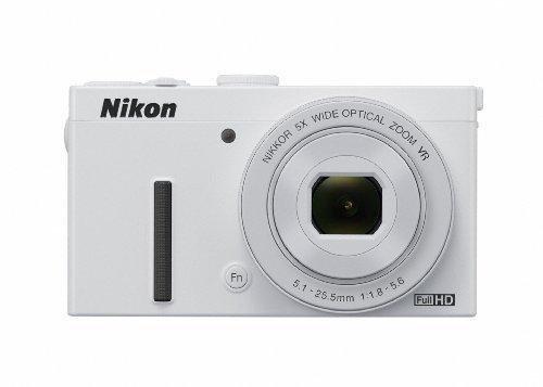Nikon デジタルカメラ P340 開放F値1.8 1200万画素 ホワイト P340WH