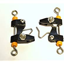 Catch All Tackle Outrigger Release Clips Box Of 10 Adjustable - Downrigger- Kite