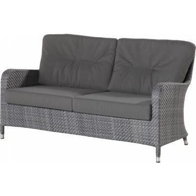 4 Seasons Outdoor 2.5-Sitzer Sofa Westminster inkl. Kissen ebony
