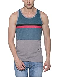 Alan Jones Printed Cotton Vest - B06XG9HYK7