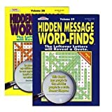 Hidden Message Word Finds (Volumes vary see sellers for vol#) by Kappa
