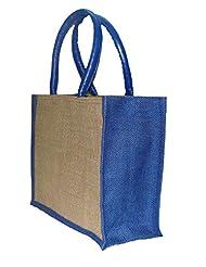 Foonty Small Blue Jute Bag