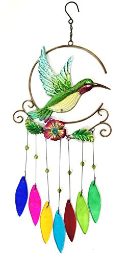 Bejeweled Display® Hummingbird Chimes