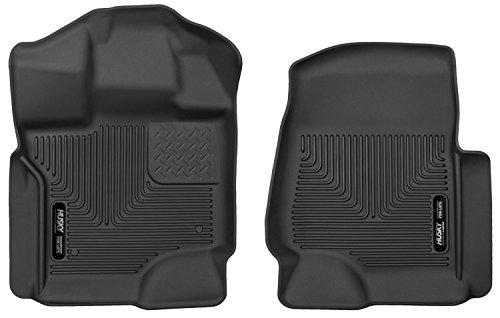 Husky Liners 53341 X-act Contour Series Black Front Floor Liner
