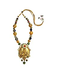Mehtaphor Gold Plated Strand Necklace For Women - B00XW1QYKO