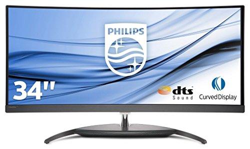 "Philips BDM3490UC/00 - Monitor de 34"" (Curvo, UltraWide, WQHD, IPS, 99% sRGB, altavoces DTS Sound, Multiview, Hub USB)"