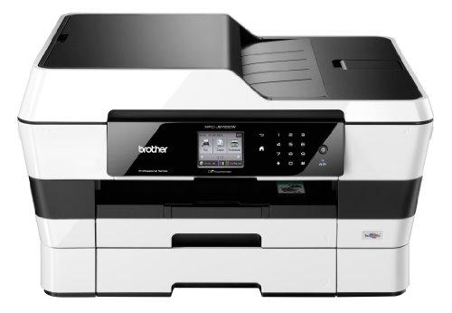 Brother MFC J 6720 DW - Equipo multifunción profesional WiFi de tinta color con fax, Blanco/Negro