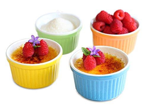 Make Easy Gluten Free Pumpkin Flan in Uno Casa Creme Brulee Ramekins