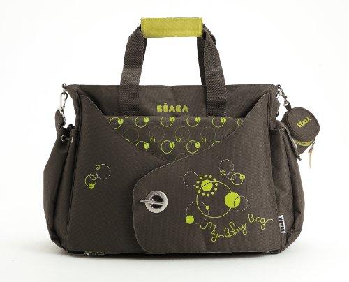 Beaba sac à langer Sydney, Marron/Vert Anis