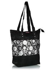 Home Heart Women's Eco Friendly Tote Bag (Silver/Black) - B00KG7VQ8C