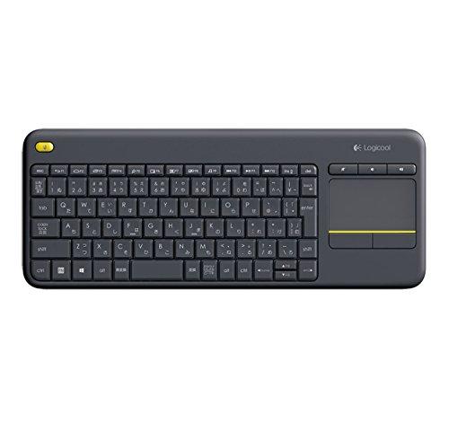 Logicool ロジクール ワイヤレス タッチキーボード K400pBK