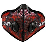Banggood Cool Anti Dust Cycling Half Face Mesh Mask With Activated Carbon Filter Red