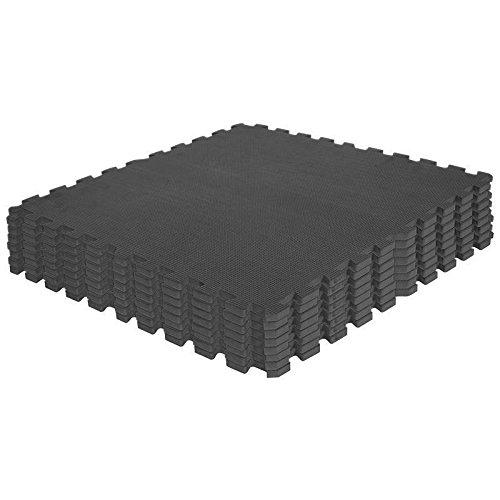 Schutzmatten Set 8 Matten Bodenschutz Puzzlematte Cardio Fitness Gorilla Sports