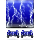 Mightyskins Protective Vinyl Skin Decal Cover For Sony Playstation 3 Ps3 Slim Skins + 2 Controller Skins Sticker... - B00701PCIC