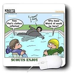 Weird Al and Scouting cartoon