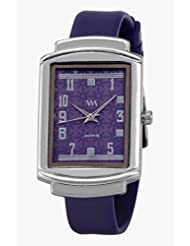 Watch Me Purple Leather Analogue Watch For Women WMAL-101-PR