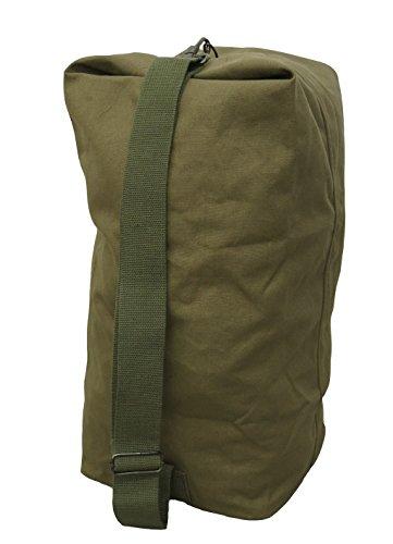 オリジナル コットンダッフルバッグ Mサイズ 2色 ODワンサイズ