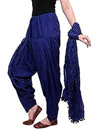 Bue Patiala Pants Women's Cotton Patiala Bottoms Clothing Accessories