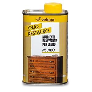VELECA olio nutriente ravvivante per legno 250ml restauro mobili ...